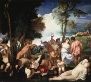 Titian Bacchanal 1523-1524