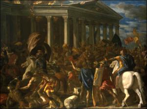 Nicolas Poussin-DESTRUCTION OF JERUSALEM